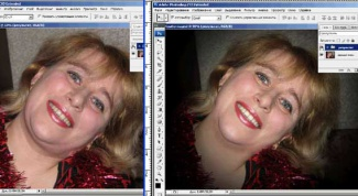 Как убрать подбородок в фотошопе