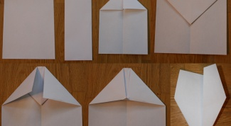 Как сделать бумажный самолёт