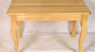 Как собрать стол