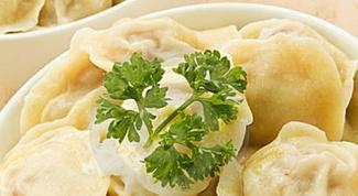How to sculpt dumplings
