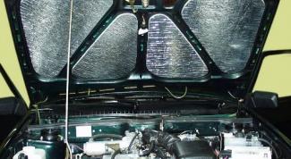 Как утеплить двигатель