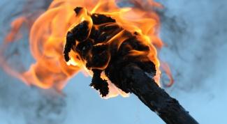 Как сделать факел