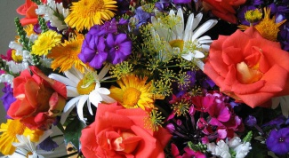 How to assemble a bouquet