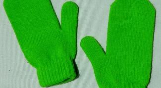 Как вязать палец