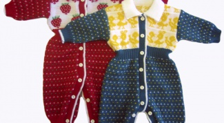 How to knit knitting for newborns