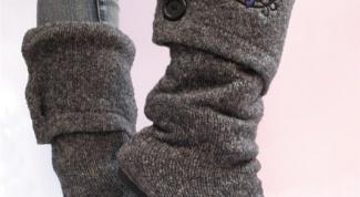 Как сшить обувь
