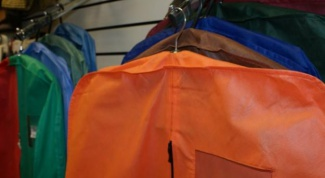 How to sew a garment bag