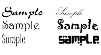 Как менять шрифт