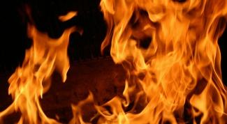 Как сделать огонь в фотошопе