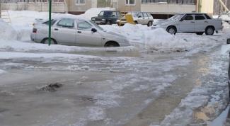 Как убрать лед