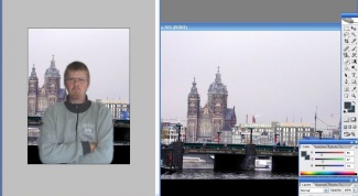 How to change the background of a photo