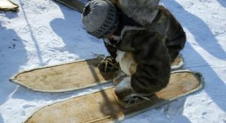 Как сделать лыжи