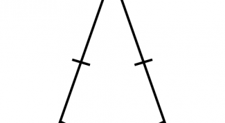 How to find the area of an isosceles triangle