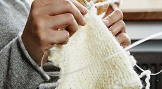 Как вязать скрещенные петли