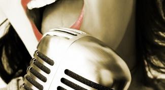 Как повысить голос