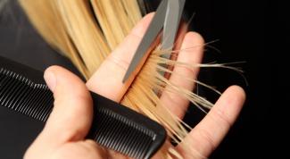 Как подстричь косую челку