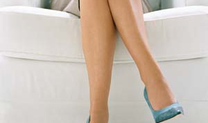 Как убрать колени