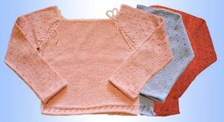 How to knit Raglan knitting