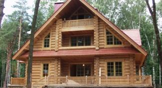 Как построить сельский дом