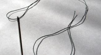 Как вдеть нитку