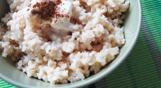Как варить молочную рисовую кашу