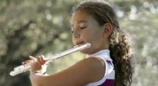 Как играть на флейте
