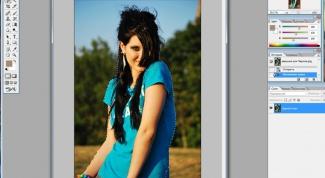 Как менять фон в фотошопе