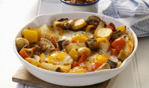Как пожарить грибы с картошкой