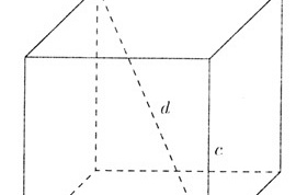 How to find the diagonal of a rectangular parallelepiped