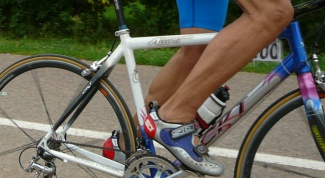 Как нажимать на педали велосипеда