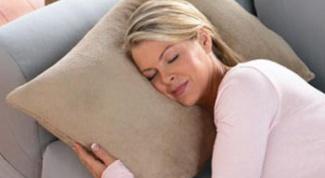 Как выбрать правильную подушку
