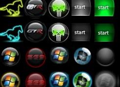 Как изменить кнопку пуск