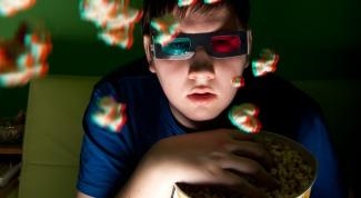 Как сделать 3d очки видео