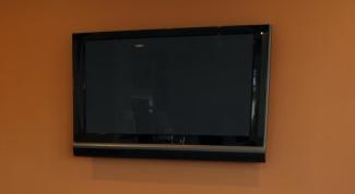 Как закрепить телевизор