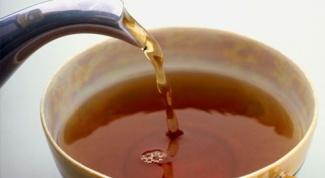Как вывести пятна чая