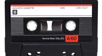 Как переписать кассету