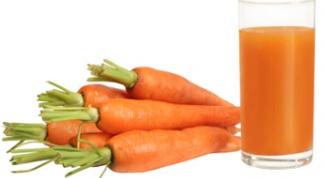 Как пить морковный сок