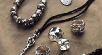 Как определить серебро в домашний условиях