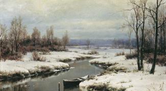 Как нарисовать зимние пейзажи