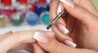 Как нарастить ногти на форме