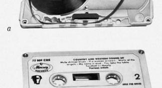 Как записать с кассет на диск