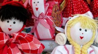 Как сделать куклу из колготок