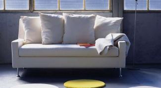 Как собрать диван