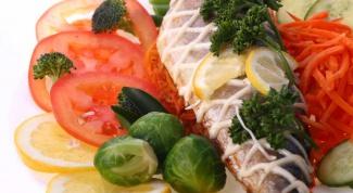 Как украсить рыбу