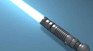 Как сделать лазерные мечи
