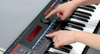 Как подключить синтезатор