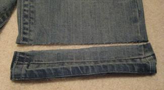 Как подшить джинсы в 2017 году