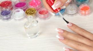 Как приклеить ногти