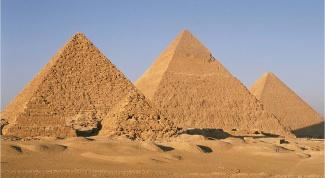 Как сделать пирамиду из картона