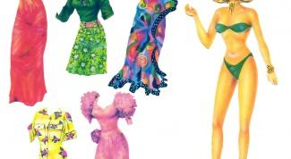 Как сделать бумажные куклы